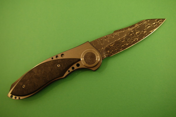 David Broadwell Arachnophobia Custom Knife