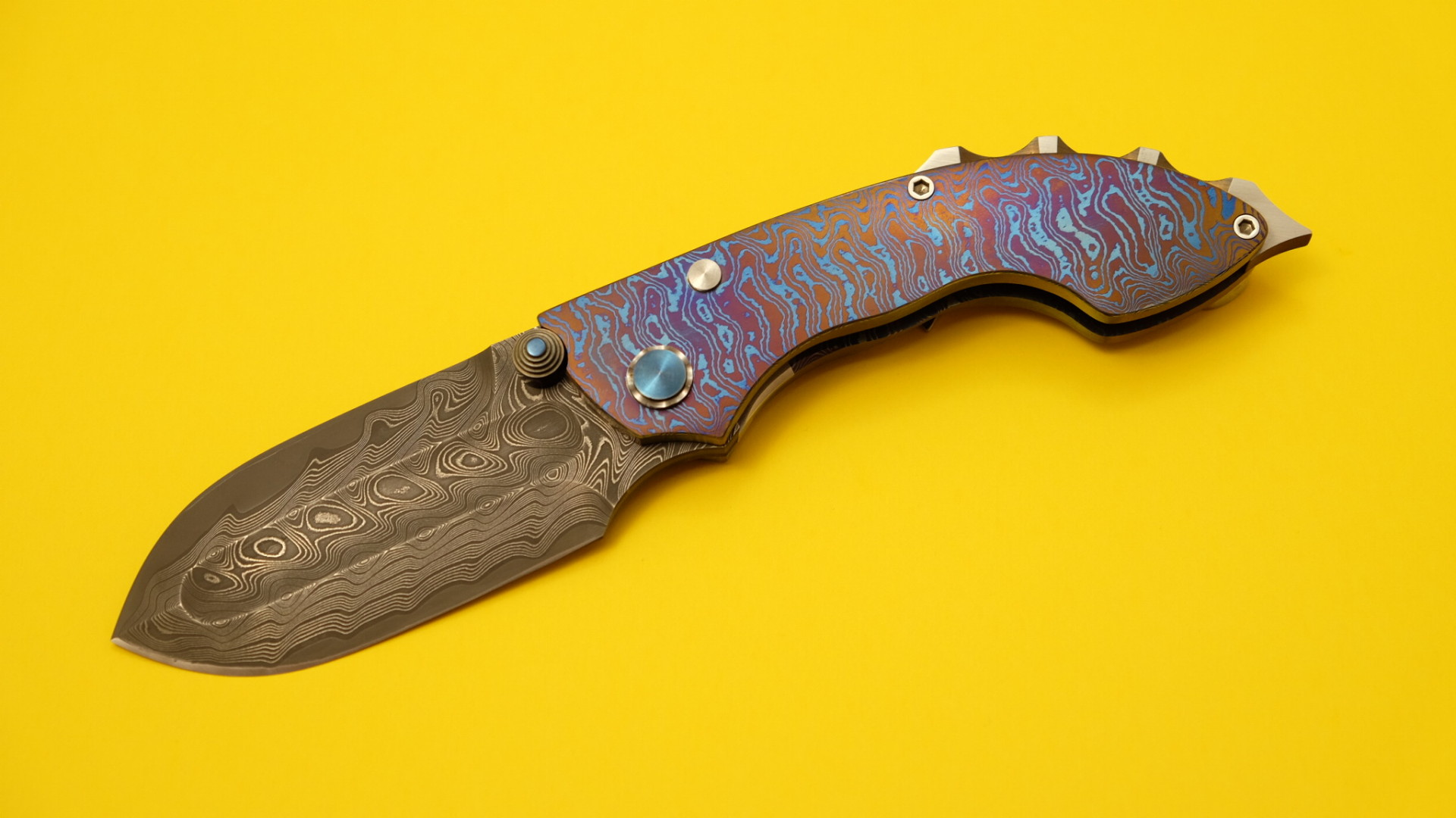 Phil Harvey custom knife - Gladius Exoticus